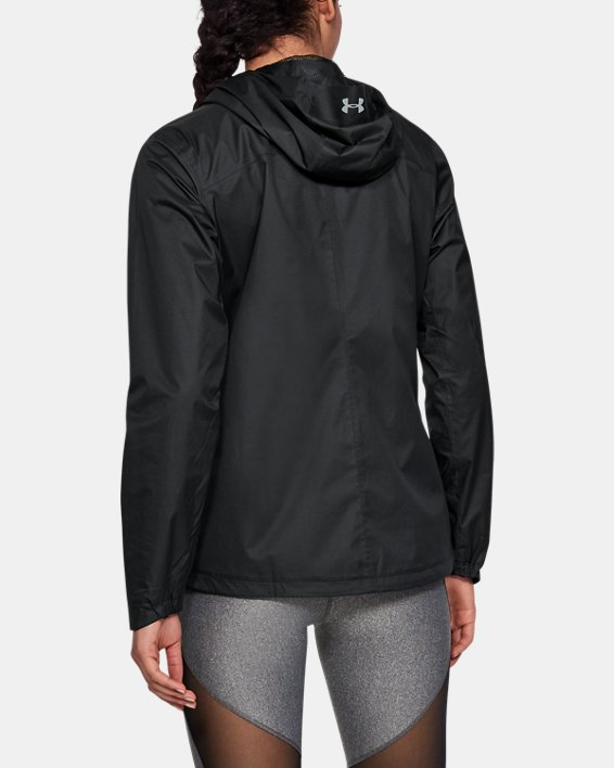 Women's UA Overlook Jacket, Black, pdpMainDesktop image number 2