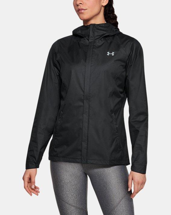 Women's UA Overlook Jacket, Black, pdpMainDesktop image number 0