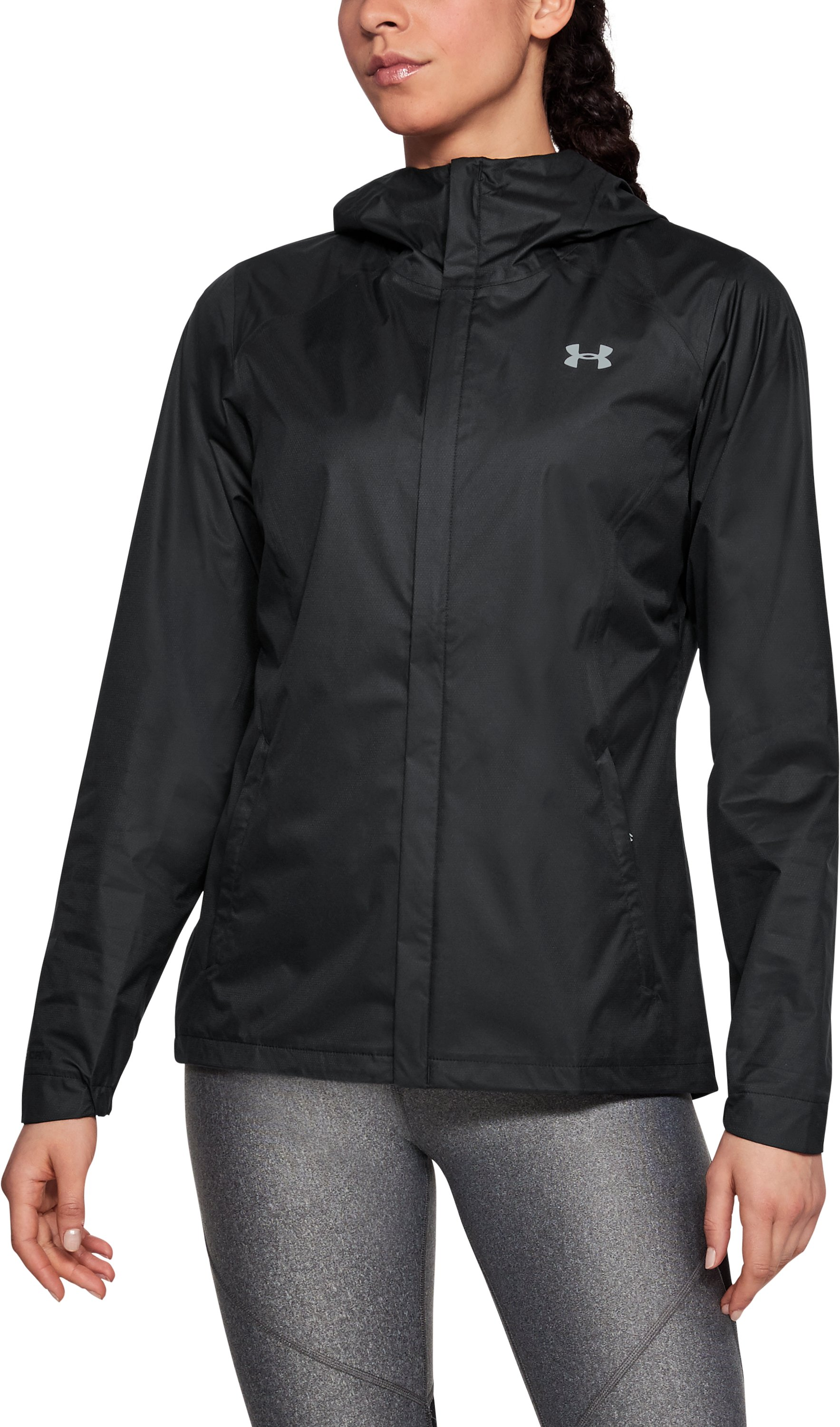 Women's UA Overlook Jacket, Black