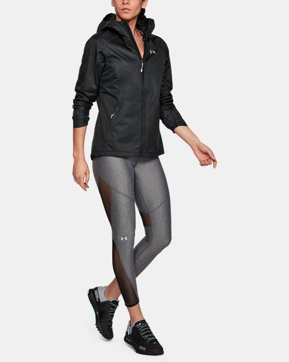 Women's UA Overlook Jacket, Black, pdpMainDesktop image number 1