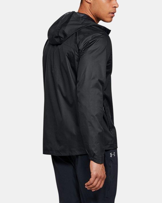 Men's UA Overlook Jacket, Black, pdpMainDesktop image number 2