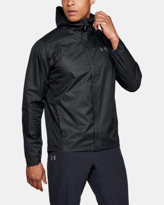 Men's UA Overlook Jacket, Black, pdpMainDesktop image number 0