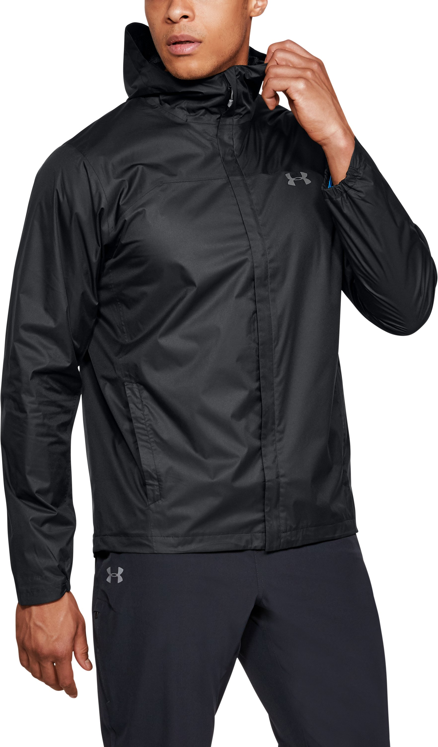 Men's UA Overlook Jacket, Black
