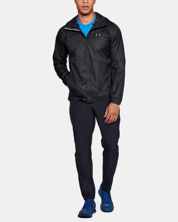 Men's UA Overlook Jacket, Black, pdpMainDesktop image number 1