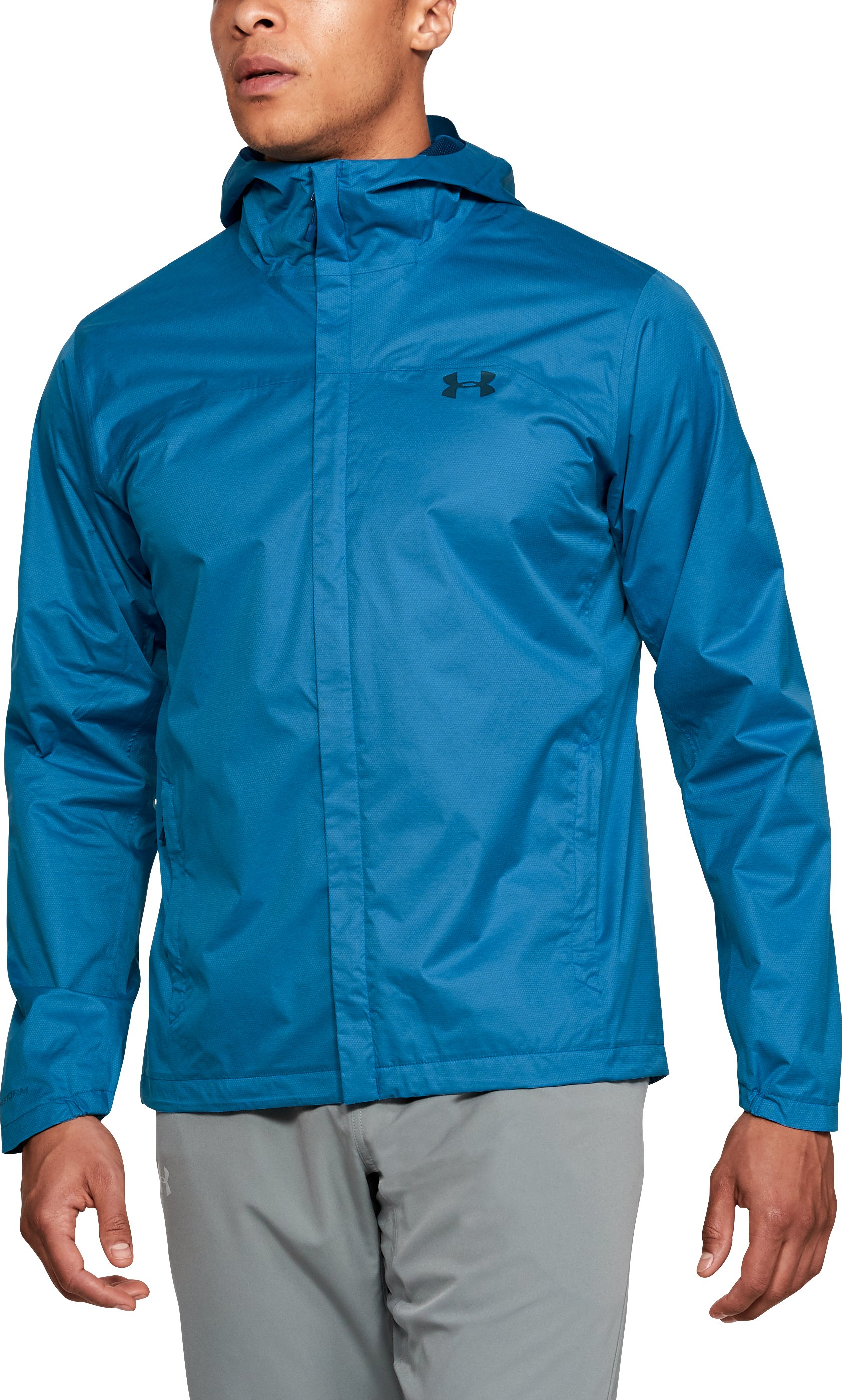 Men's UA Overlook Jacket, CRUISE BLUE
