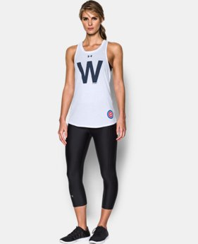 New Arrival Women's Chicago Cubs Cutout Tank  1 Color $29.99