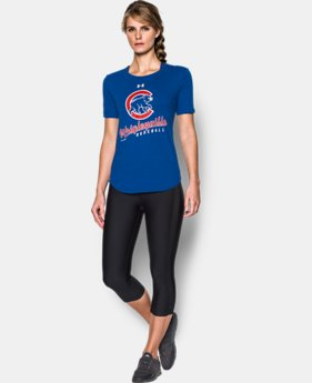 New to Outlet Womens Chicago Cubs Wrigleyville T-Shirt  1  Color Available $26.24