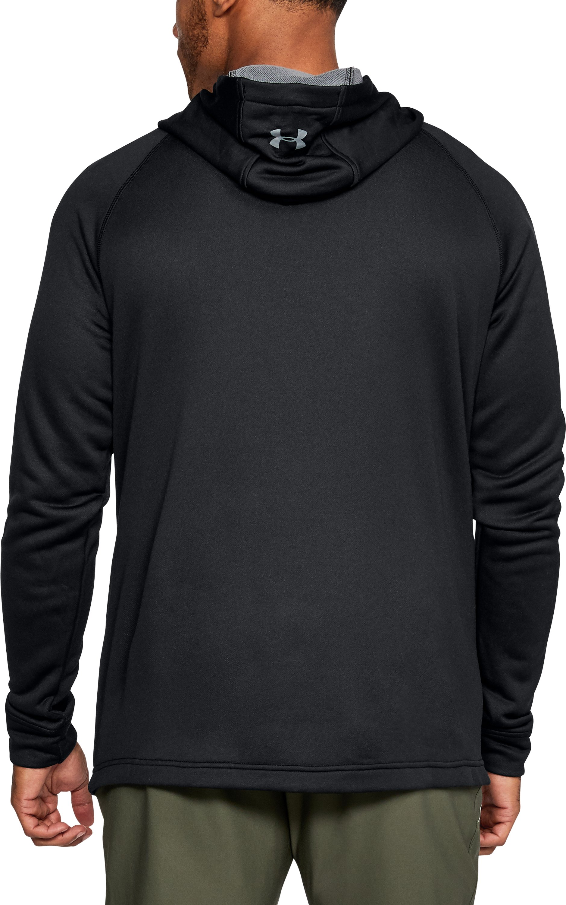 Men's UA Freedom Tech Terry Hoodie, Black , undefined