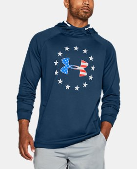 Men's UA Freedom Tech Terry Hoodie  2  Colors Available $32.99