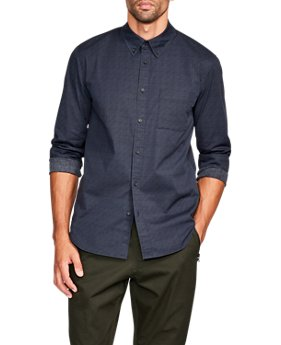 Men's UAS Delta Poplin Shirt   $120