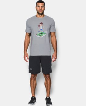 New Arrival Men's UA 8-Bit Andy Murray  T-Shirt  1 Color $34.99