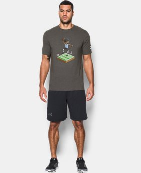 Men's UA 8-Bit Cam Newton T-Shirt  1 Color $14.99