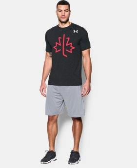 New Arrival  Men's UA Hockey CA Flag T-Shirt  2 Colors $29.99