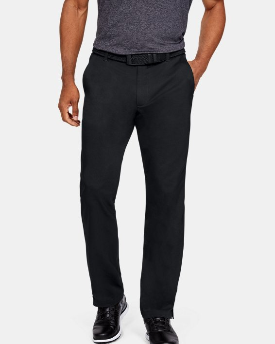 Men's UA Showdown Pants, Black, pdpMainDesktop image number 0