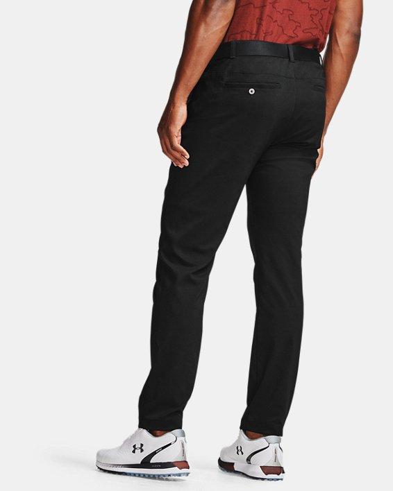 Men's UA Showdown Tapered Pants, Black, pdpMainDesktop image number 2