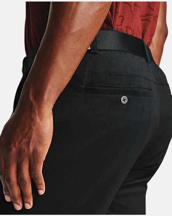 Men's UA Showdown Tapered Pants, Black, pdpMainDesktop image number 5