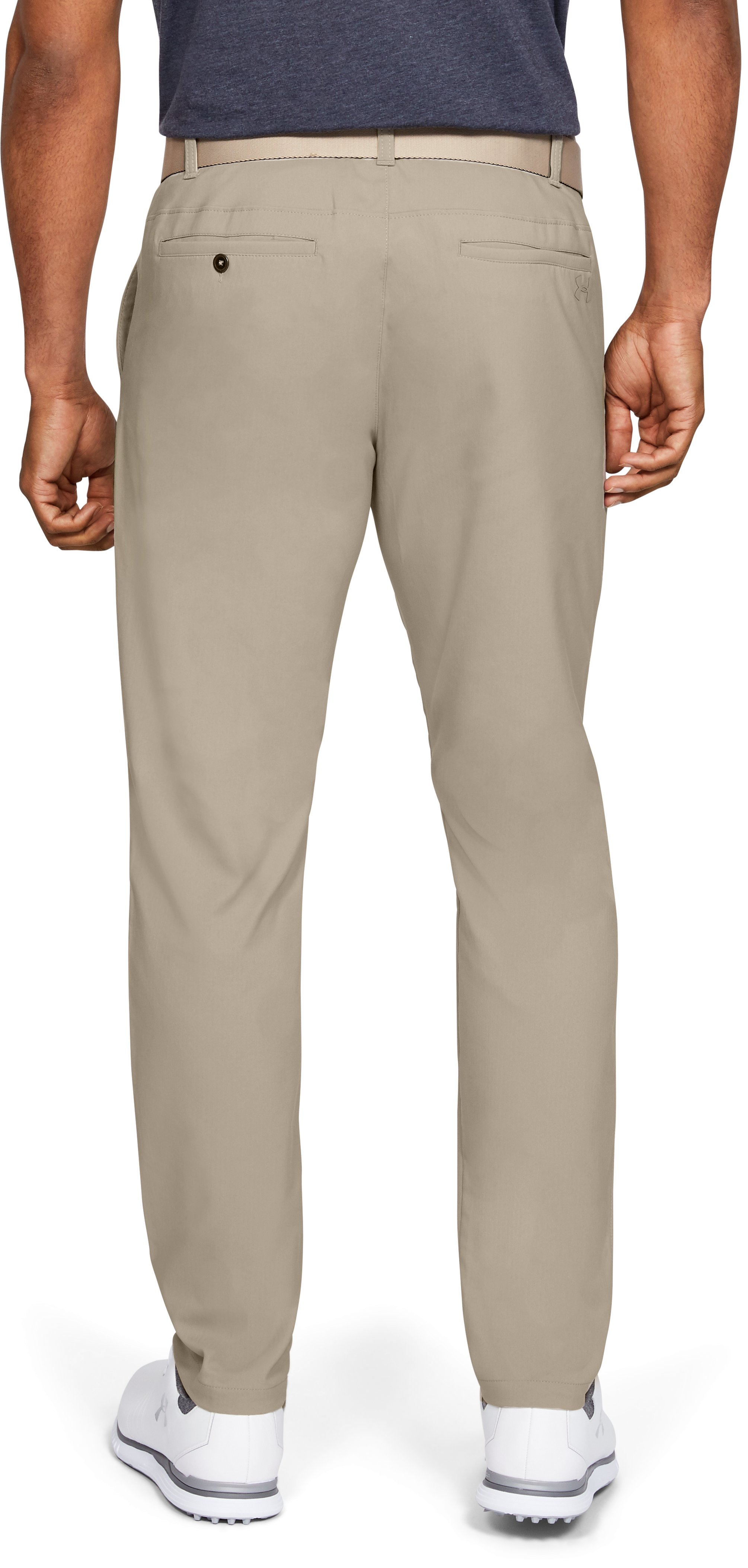 Men's UA Showdown Tapered Pants, CITY KHAKI,