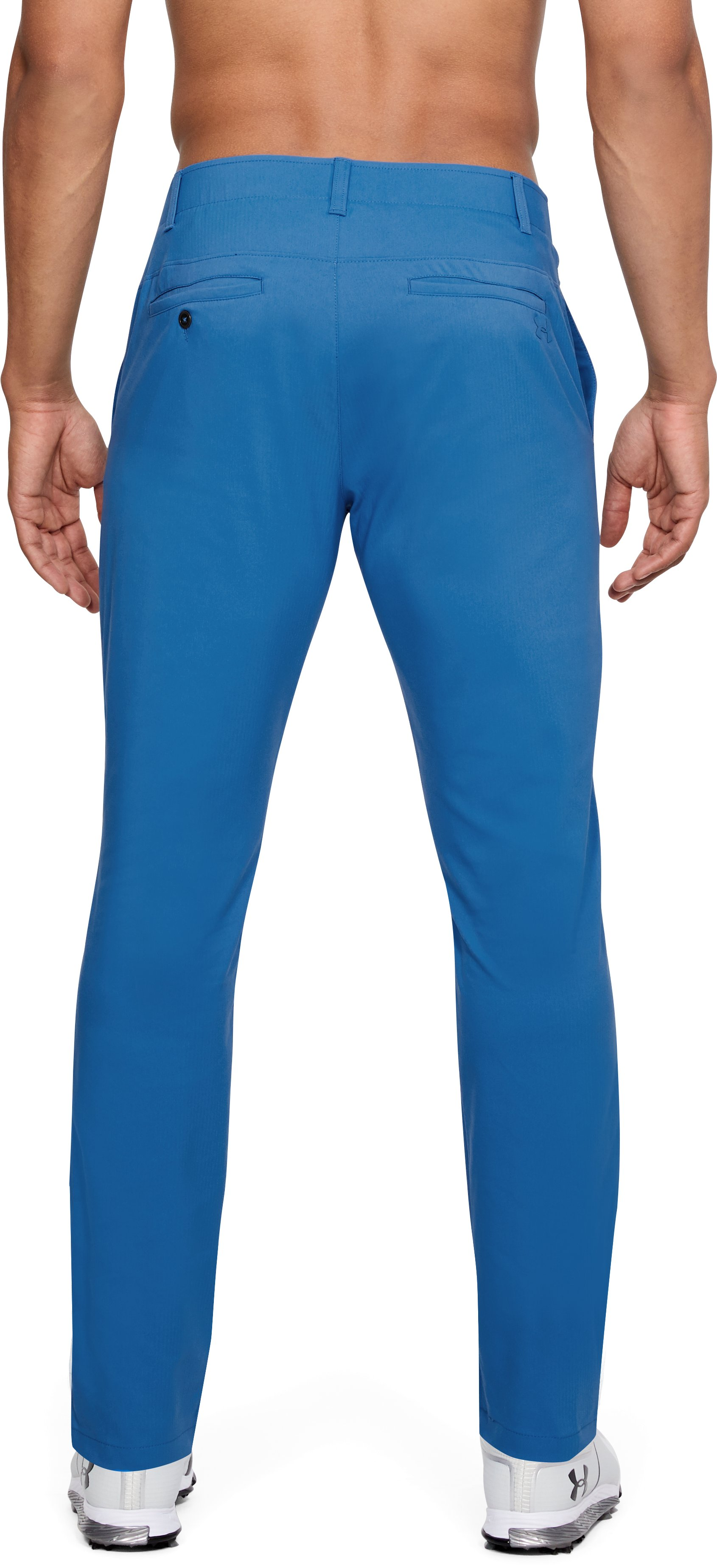 Men's UA Showdown Tapered Pants, Mediterranean, undefined