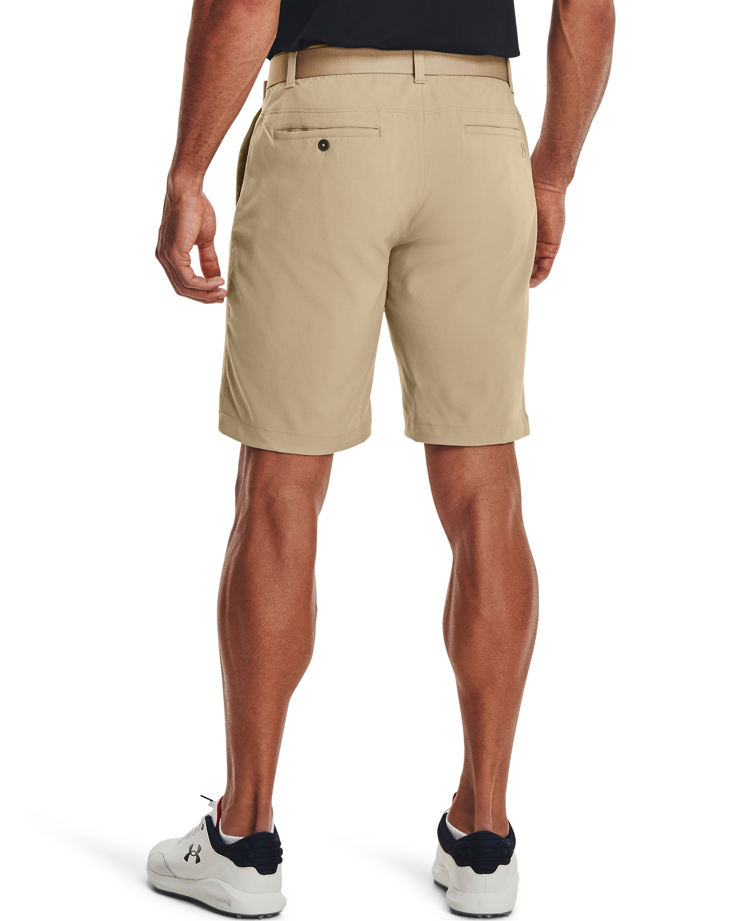 Men's UA Showdown Golf Shorts, CITY KHAKI, undefined