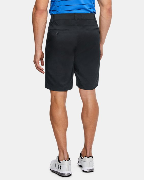 Men's UA Showdown Tapered Shorts, Black, pdpMainDesktop image number 2