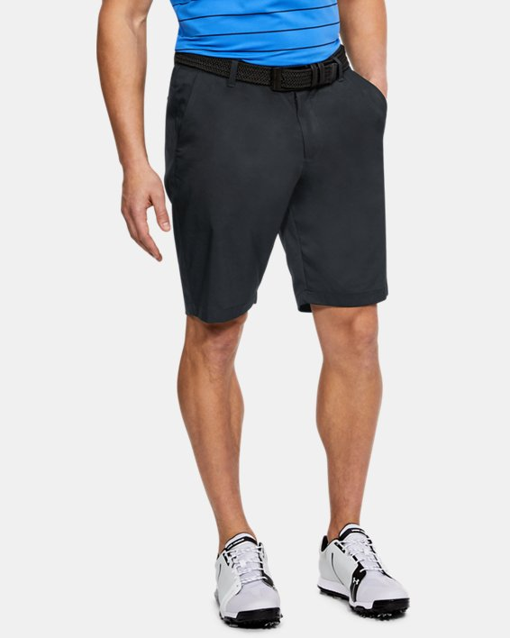 Men's UA Showdown Tapered Shorts, Black, pdpMainDesktop image number 0