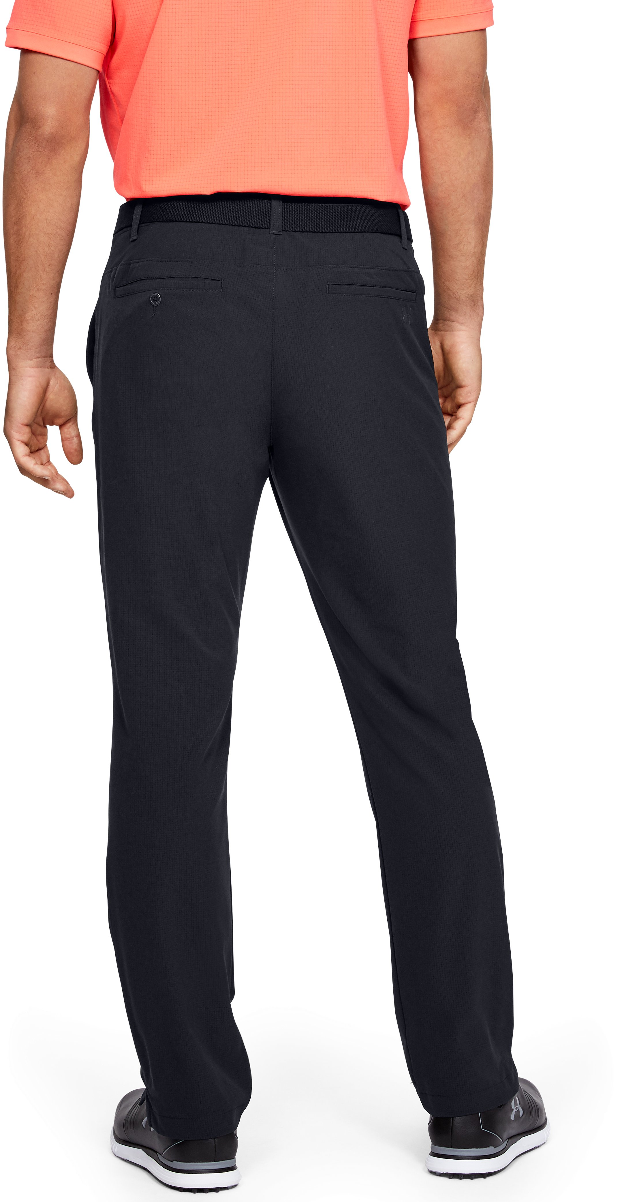 Men's UA Showdown Vented Pants, Black ,