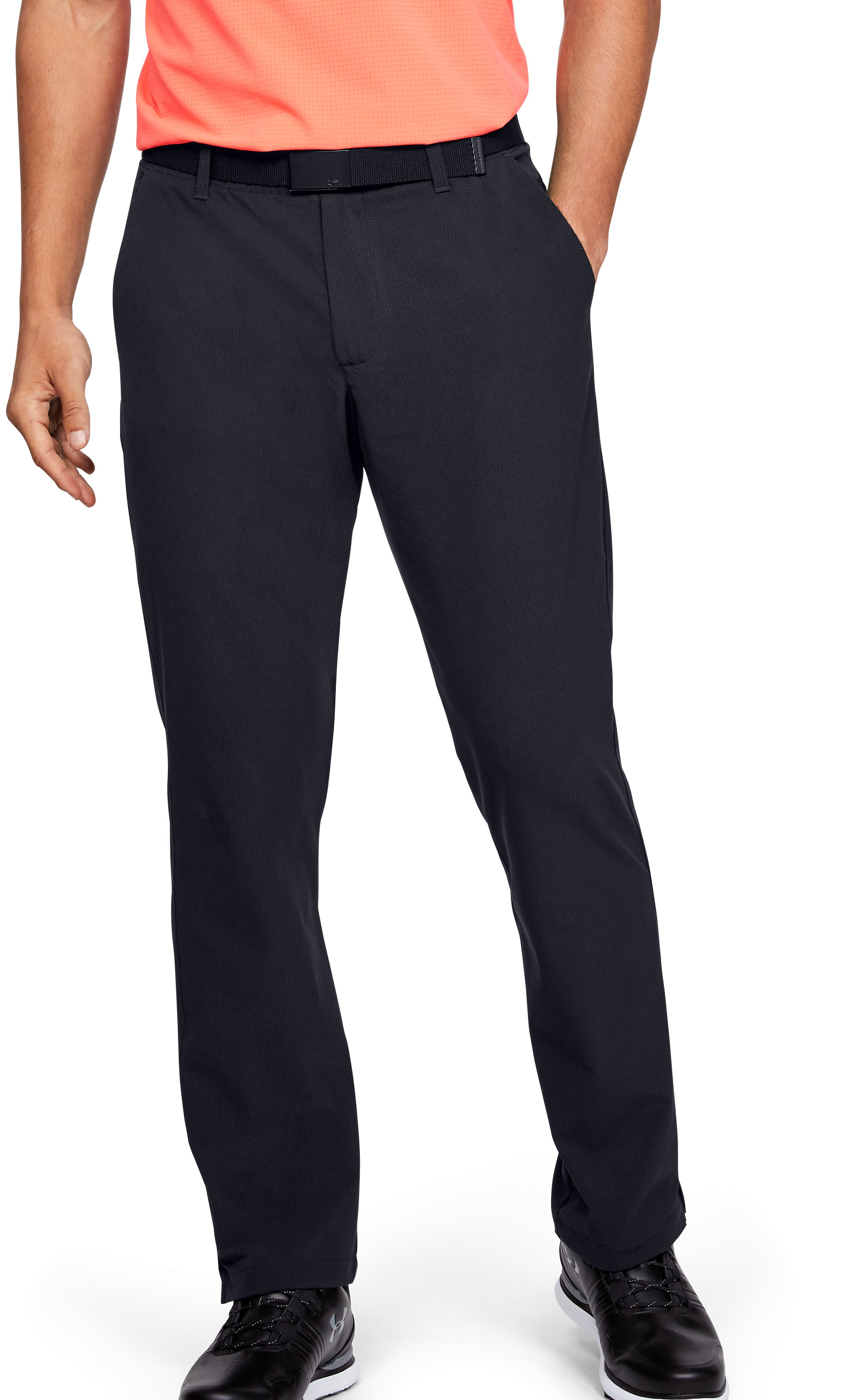 Men's UA Showdown Vented Pants, Black