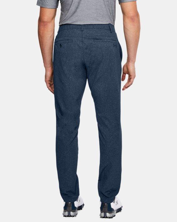 Men's UA Showdown Vented Pants Tapered, Navy, pdpMainDesktop image number 2