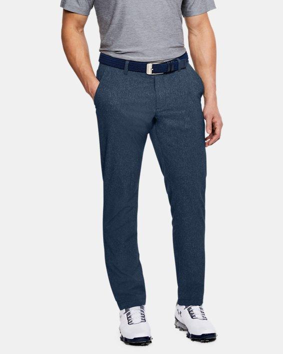 Men's UA Showdown Vented Pants Tapered, Navy, pdpMainDesktop image number 0