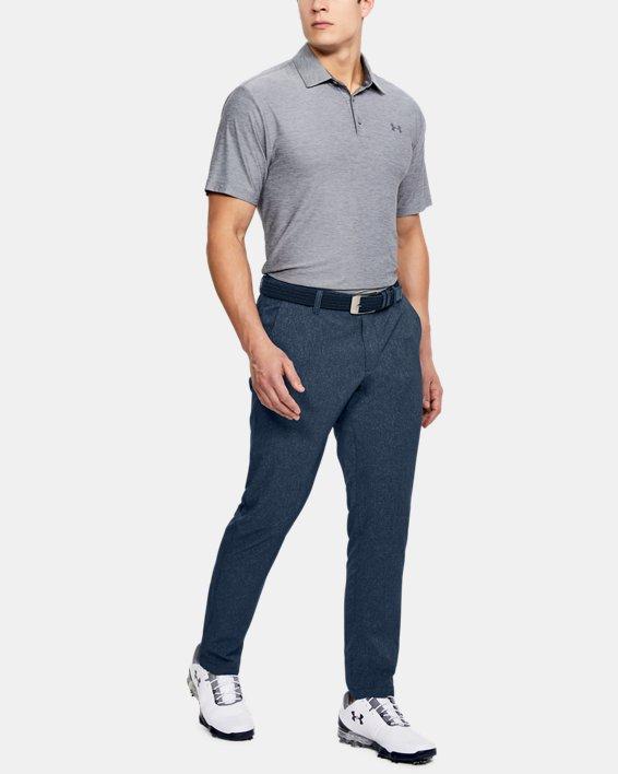 Men's UA Showdown Vented Pants Tapered, Navy, pdpMainDesktop image number 1