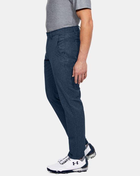 Men's UA Showdown Vented Pants Tapered, Navy, pdpMainDesktop image number 3