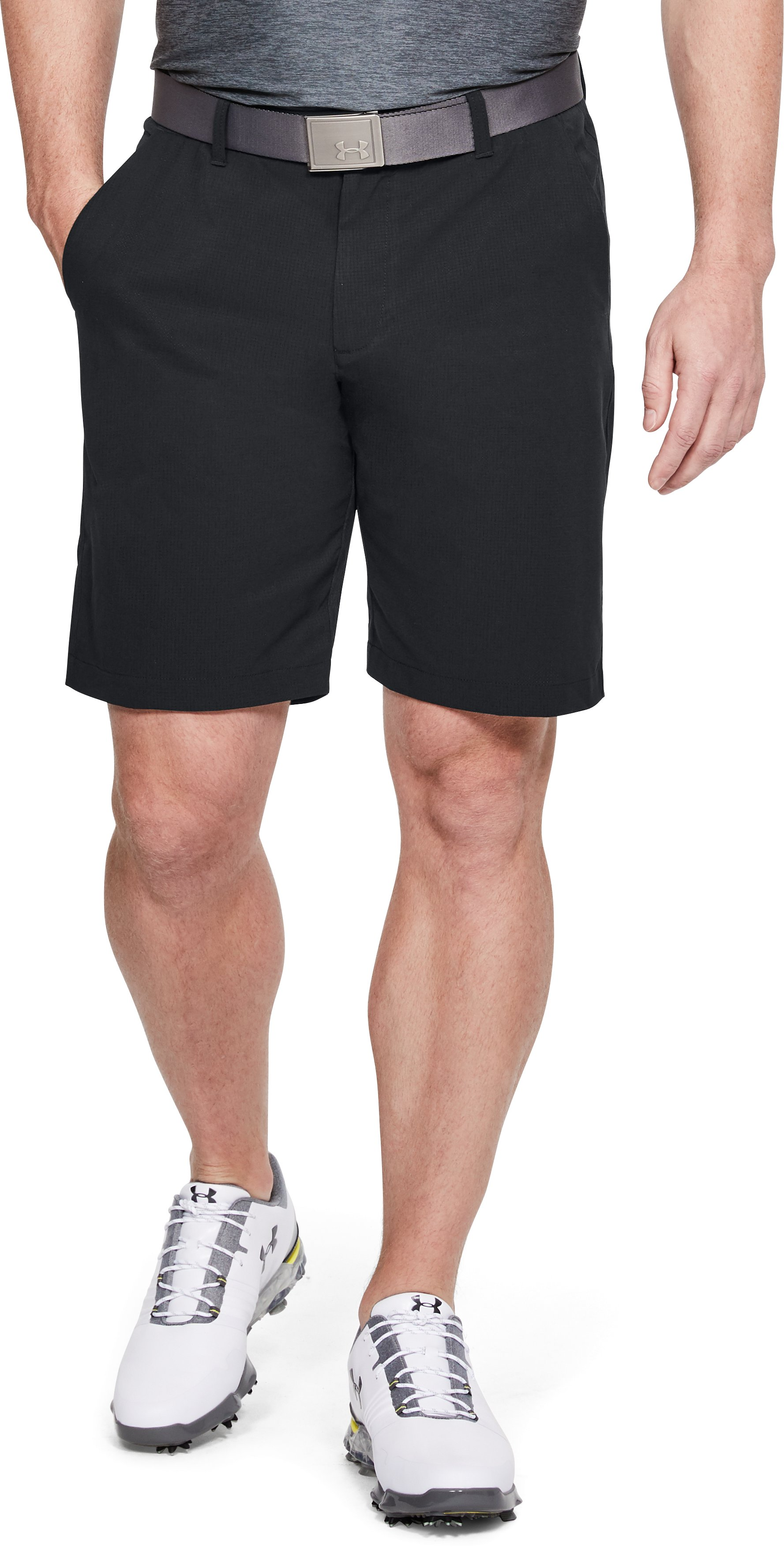 Men's UA Showdown Vented Shorts, Black