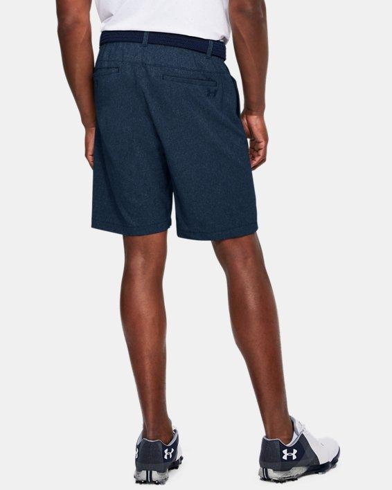 Men's UA Showdown Vented Shorts, Navy, pdpMainDesktop image number 2