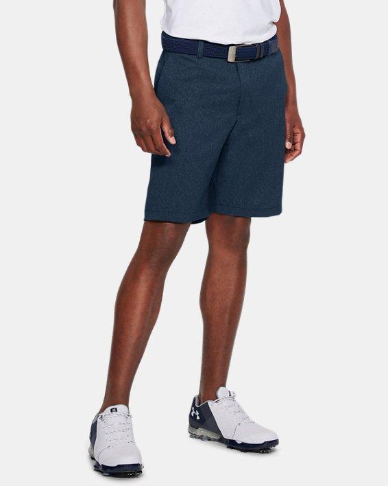 Men's UA Showdown Vented Shorts, Navy, pdpMainDesktop image number 0