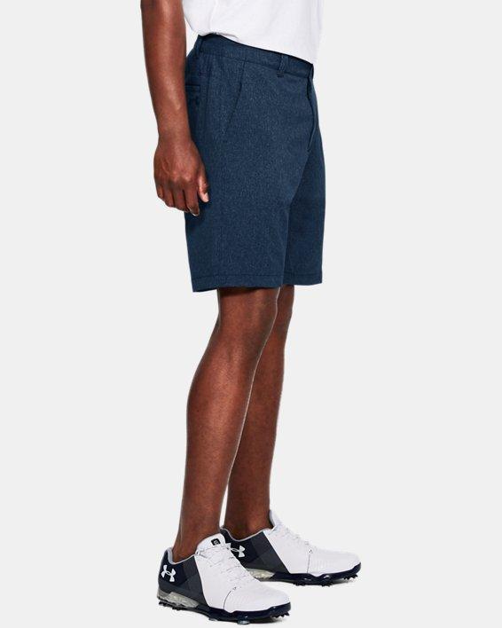 Men's UA Showdown Vented Shorts, Navy, pdpMainDesktop image number 3