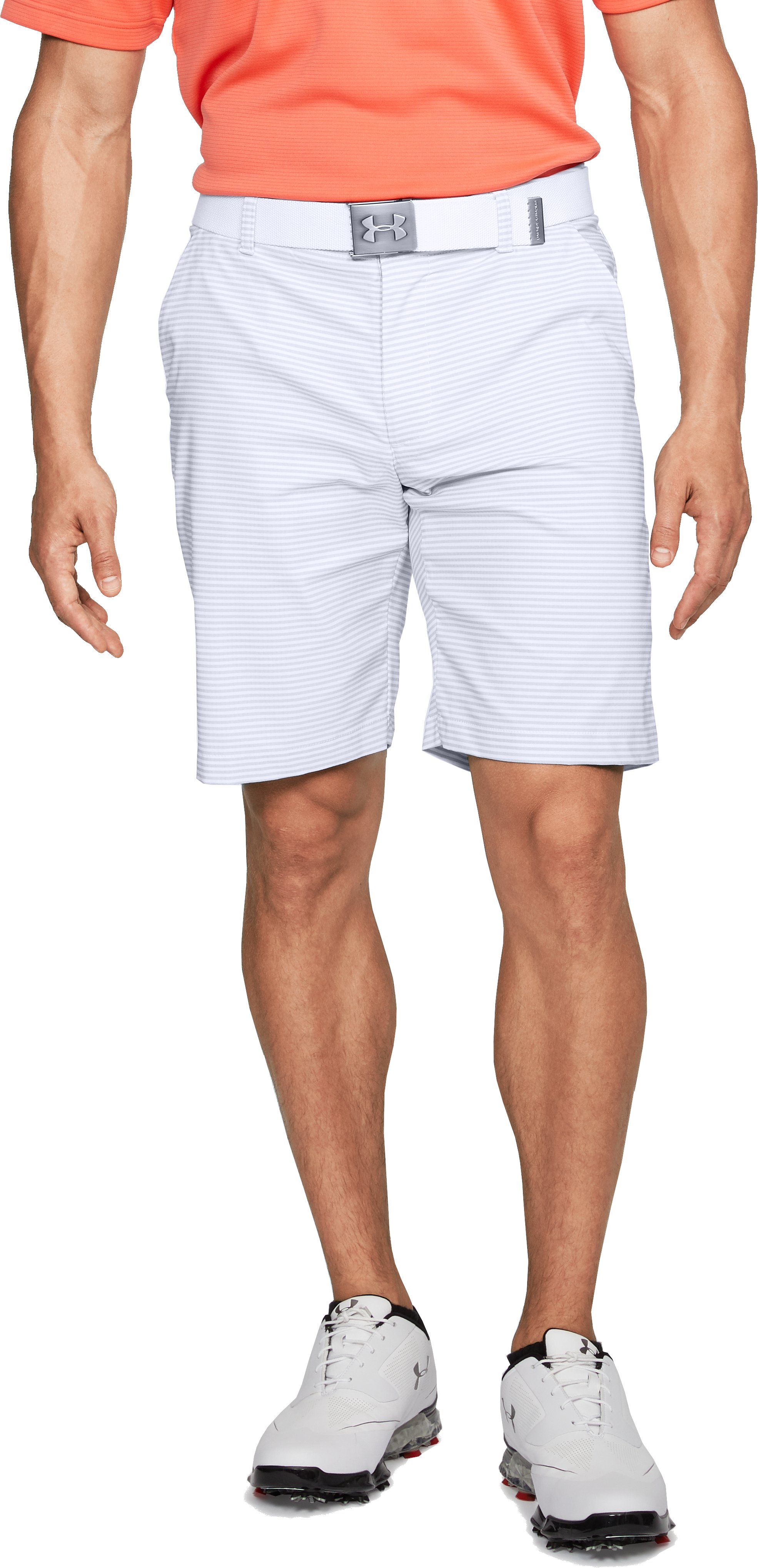 Men's UA Showdown Shorts Pattern, White
