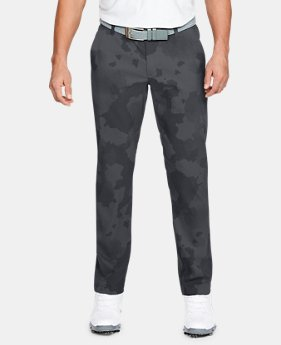 New Arrival Men's UA Showdown Pattern Pants Taper  1  Color Available $90