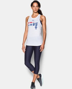 Women's Chicago Cubs 4th Of July Cutout Tank  1 Color $29.99