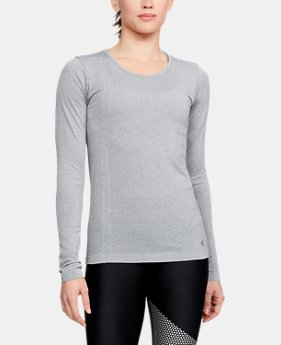 Women's UA Threadborne Seamless Heathered Long Sleeve Shirt  1  Color $49.99