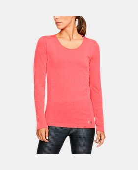 Women's UA Threadborne Seamless Heathered Long Sleeve Shirt  1 Color $37.49 to $37.99
