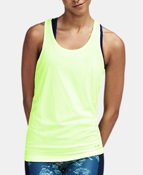 Women's UA Threadborne™ Seamless Heathered Racer Tank  1 Color $39.99