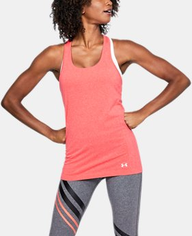 Women's UA Threadborne™ Seamless Heathered Racer Tank   $39.99