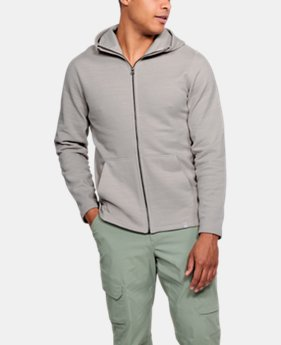 Men's UA Microthread Fleece Full Zip Hoodie  2  Colors Available $80
