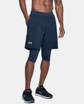 Men's UA Launch SW Long Shorts  1 Color $50