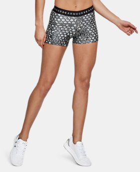 Women's HeatGear® Armour Printed Shorty  4  Colors Available $22.5