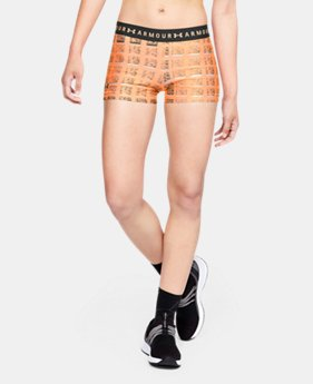 Women's HeatGear® Armour Printed Shorty  1  Color Available $18 to $22.5