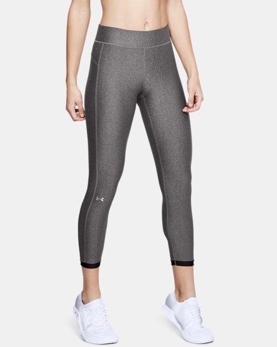 Legging HeatGear® Armour Ankle Crop pour femme, Gray, pdpMainDesktop image number 0