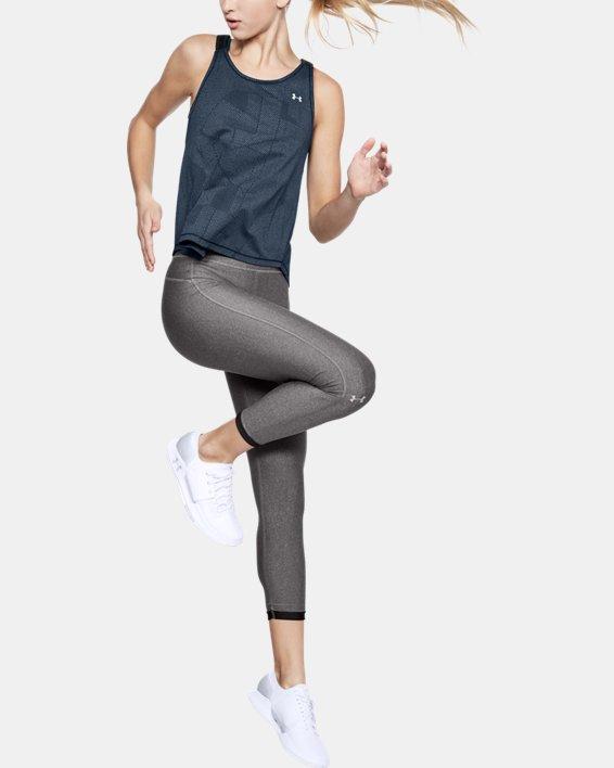 Legging HeatGear® Armour Ankle Crop pour femme, Gray, pdpMainDesktop image number 1