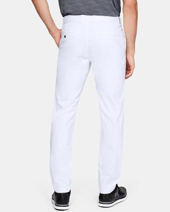 Men's UA Vanish Pants Tapered, White, pdpMainDesktop image number 2