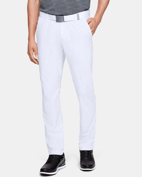 Men's UA Vanish Pants Tapered, White, pdpMainDesktop image number 0